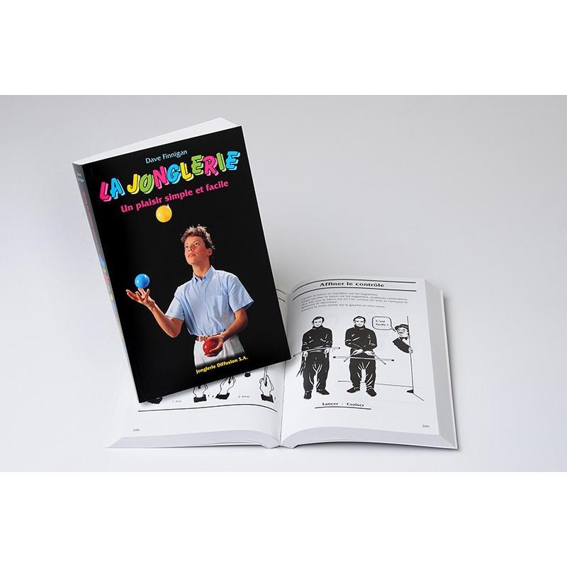 """Livre """"La jonglerie simple et facile""""."""