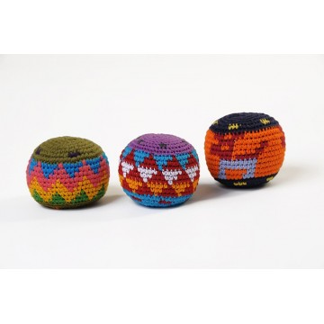 Balle Rasta multicolore (lot de 3)