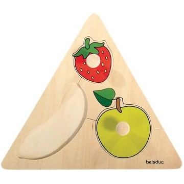 Fruits en triangle