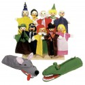 Assortiment de marionnettes (lot de 12)
