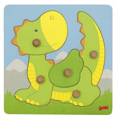 Puzzle à encastrements dragon