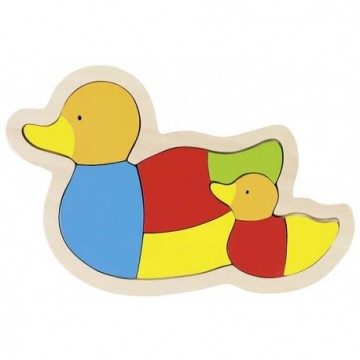 Puzzle, Famille canard