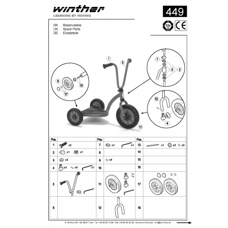 Trottinette Plateforme Mini Viking Winther 449.20
