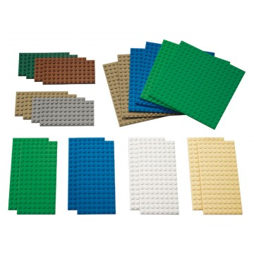 Assortiment Plaques de construction LEGO