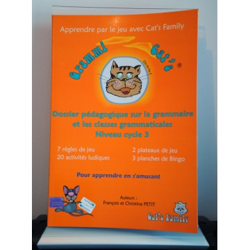 Dossier pédagogique Grammi Cat's Classes grammaticales Cycle 3