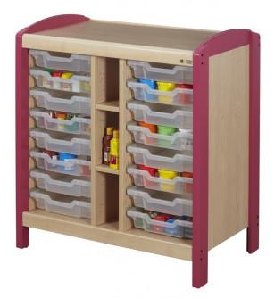 Rangement casiers 2 colonnes