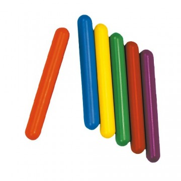 LOT DE 6 BATONS DE RELAIS SYNTHETIQUES