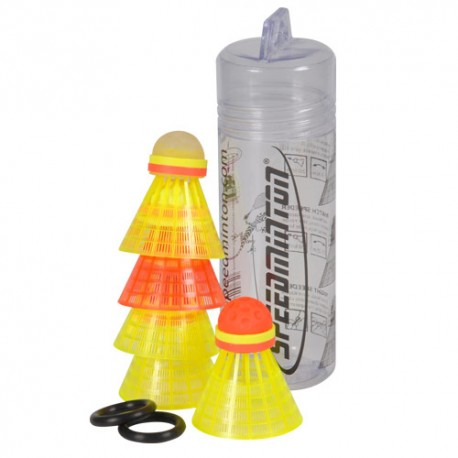 TUBE DE 5 VOLANTS SPEEDMINTON