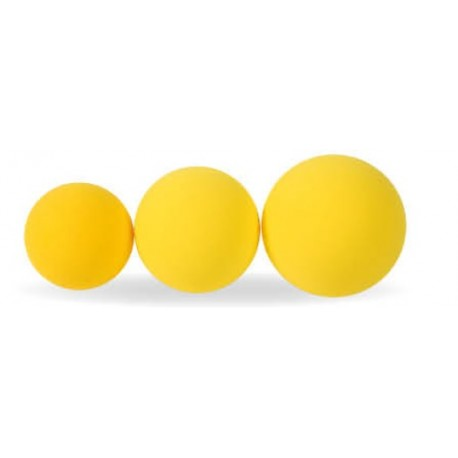 Ballon mousse jaune unicolore Softy
