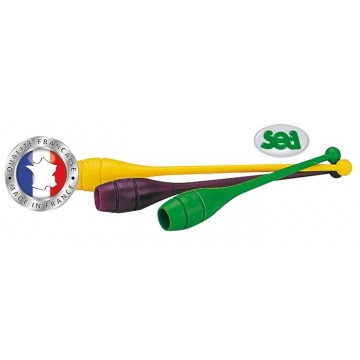 PAIRE DE MASSUE INITIATION - 34 CM - 90 GR