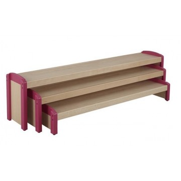 Bancs gigognes (lot de 3 bancs)