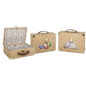 Set de 3 valises, Teddy