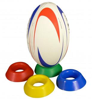Tee de rugby lesté