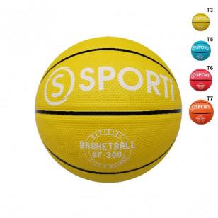 Ballon de basket caoutchouc